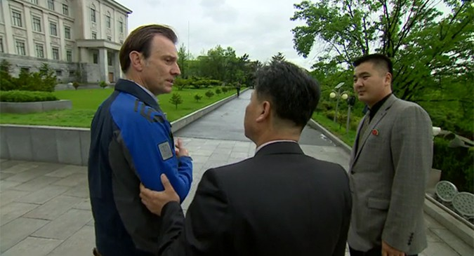 North Korea detains, expels BBC news team