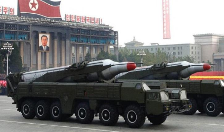 North Korea launches second IRBM in 4 hours