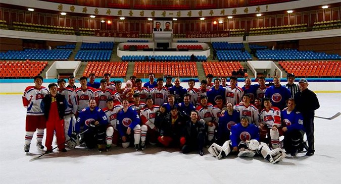 Give pucks a chance: ice hockey diplomacy in North Korea