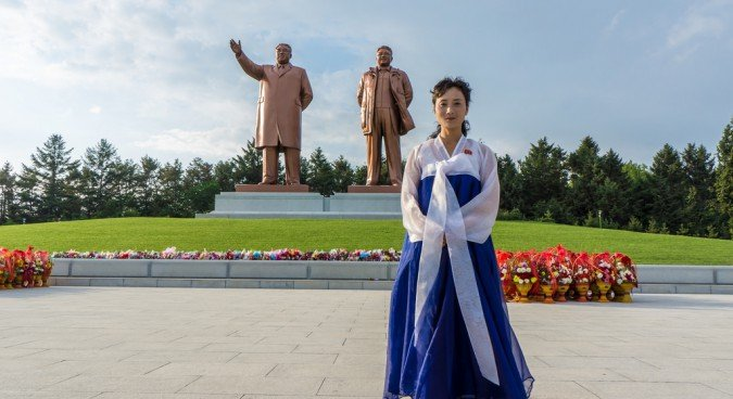 kim il sung statue photo