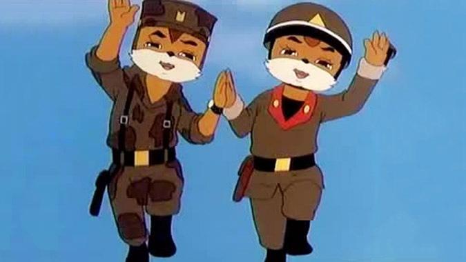 Propaganda starts early: North Korea's cruel and crude cartoons