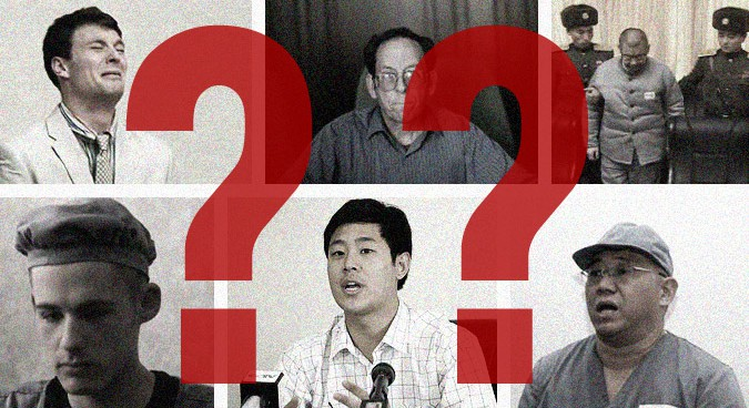 What happens when Americans get arrested in North Korea?
