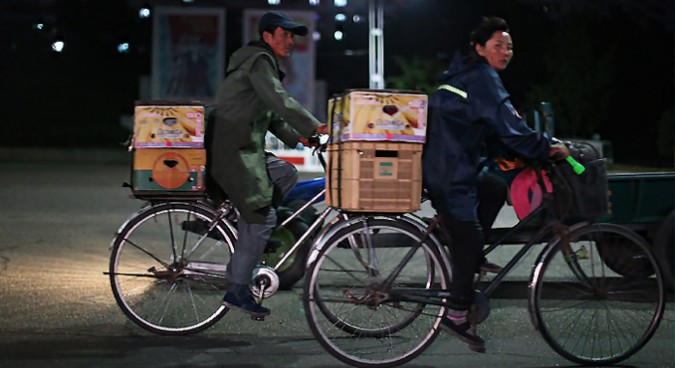 What is marketization and when did it begin in North Korea?