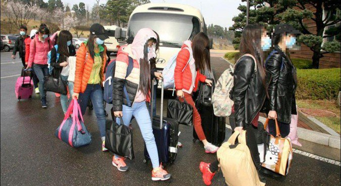 13 restaurant worker defectors arrived in Spring this year | Picture: Ministry of Unification