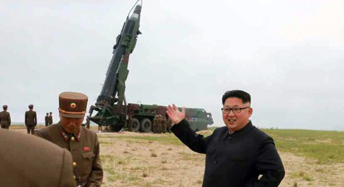All ready on North Korea's firing line