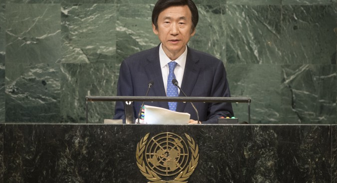 N.Korea's UN membership lacks legitimacy: South Korea FM