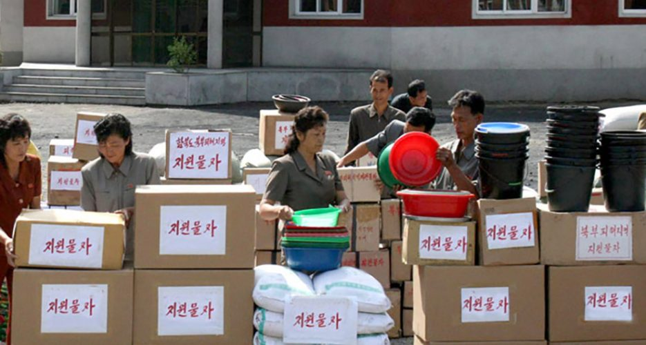 South Korean relief on its way to N.Korean flood victims, says NGO