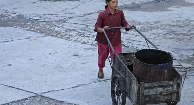 north korea poverty photo