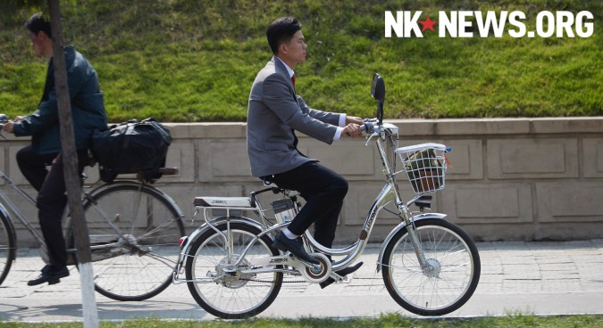 N.Koreans increasingly riding electric bicycles, photos reveal