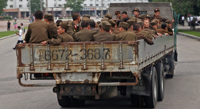 north korea army photo