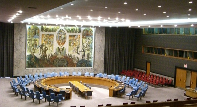 un security council photo