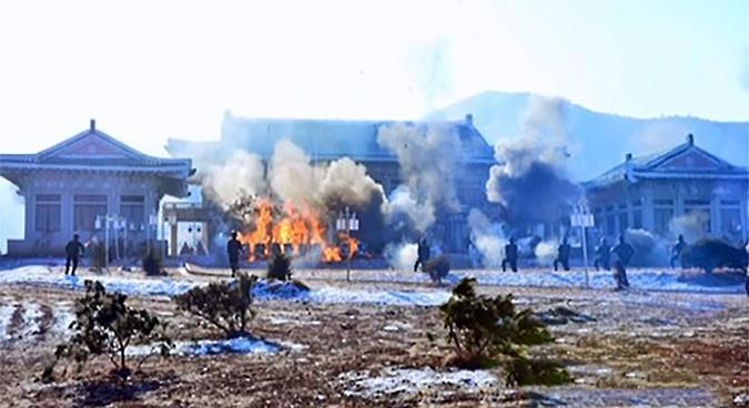 N.Korea conducts drills targeting S.Korean Presidential office