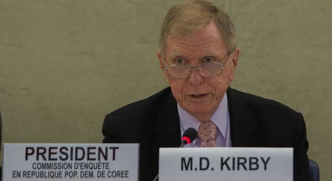 "Kirby: N. Korean human rights situation ""remains unchanged"""