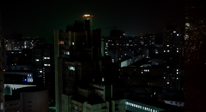 pyongyang night photo