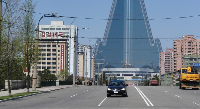 pyongyang road photo