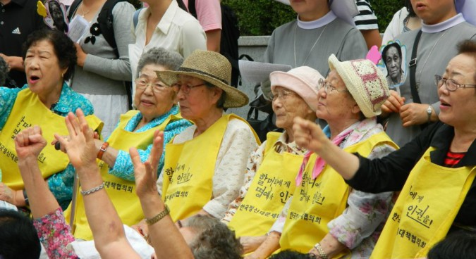 Why is North Korea so quiet on the comfort women issue?