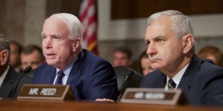 Senator_John_McCain_-_the_Chairman_of_the_Senate_Armed_Services_Committee_—_Senator_Jack_Reed_-_the_Committee's_Ranking_Democratic_Member