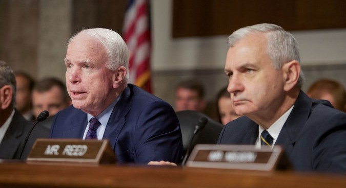 """McCain accuses China of """"hypocrisy"""" over THAAD trade reprisals"""