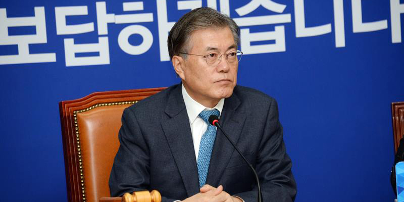 S.Korean presidential candidate Moon reverses position on THAAD deployment