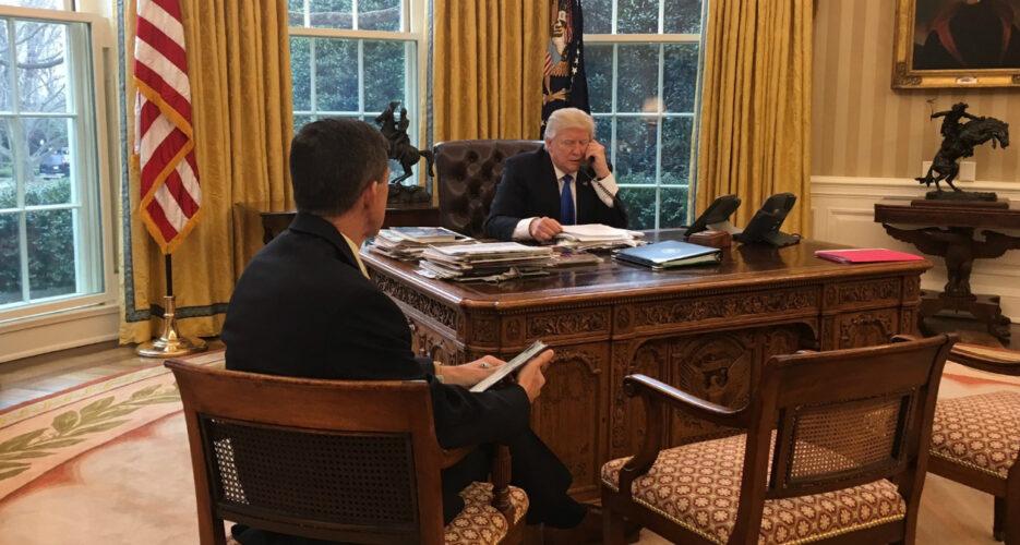 Trump and South Korean PM discuss N.Korea, THAAD in phone call
