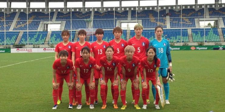 S.Korean, N.Korean women's football teams to play match in Pyongyang