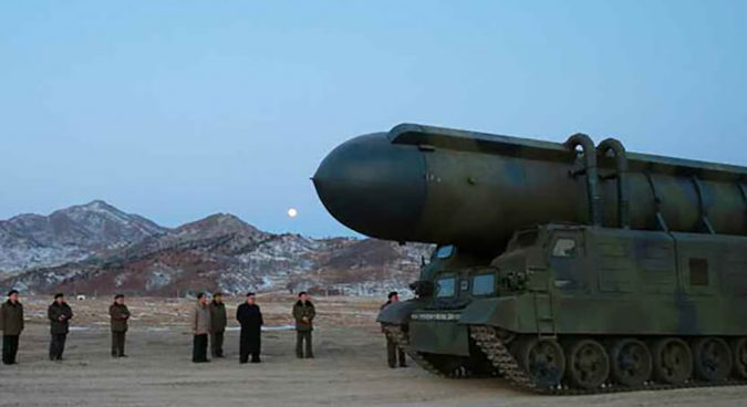 "N. Korea will ""under no circumstances"" negotiate nukes: DPRK foreign minister"