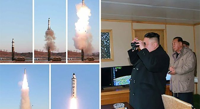 N.Korea successfully test-fired medium long-range missile: KCNA