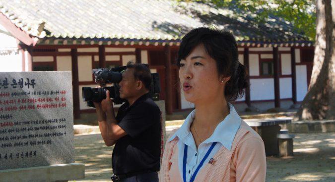 north korea tourists photo