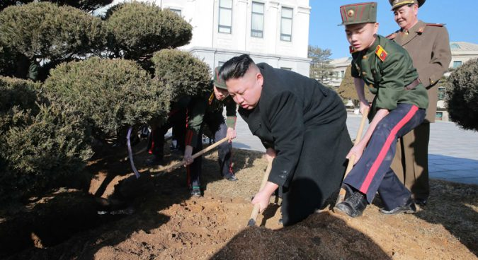 "Pyongyang's Kim Il Sung University opens new ""forest science"" department"