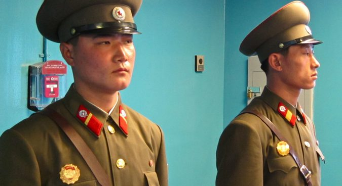 north korean soldiers photo