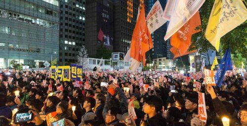 "Park ""Gone""-hye: The pendulum in Seoul swings left"