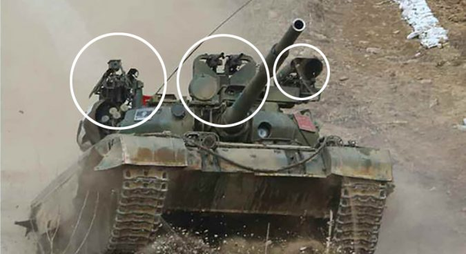 Photos reveal North Korea's experimental tank modifications