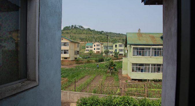 north korea farm photo
