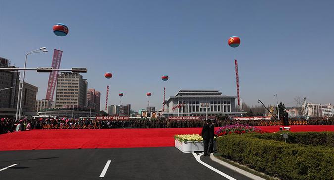 North Korea opens Ryomyong Street in Pyongyang