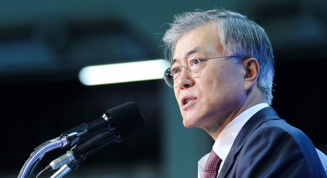 Trump and Moon Jae-in:  possible train wreck over North Korea?