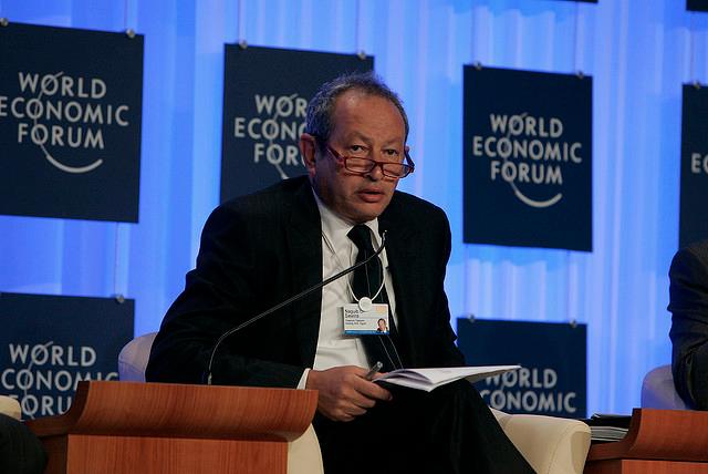 Orascom Chairman Naguib Sawiris back in Pyongyang, state media says