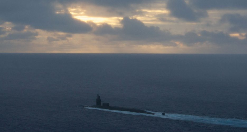 U.S. nuclear-powered submarine armed with Tomahawk missiles arrives in S.Korea
