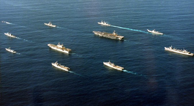 Facing sharp policy choices, U.S. sends navy strike group to Koreas