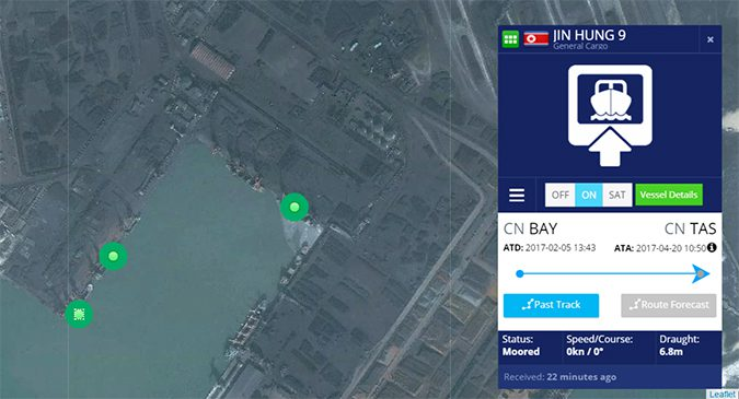 Four N. Korean ships, three with troubled pasts, allowed into Chinese coal port