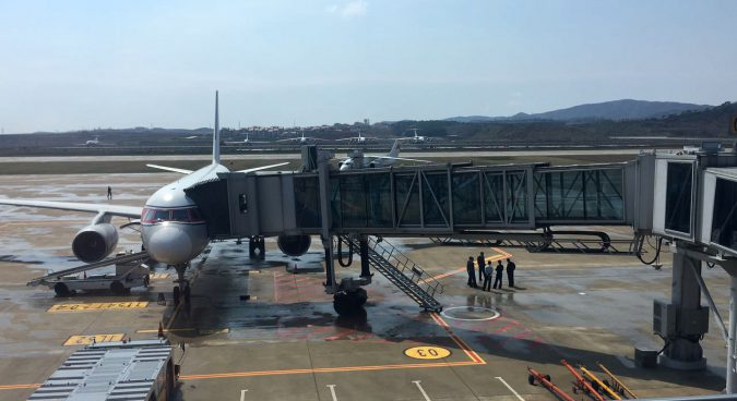 Foreign journalists stranded at Pyongyang International Airport