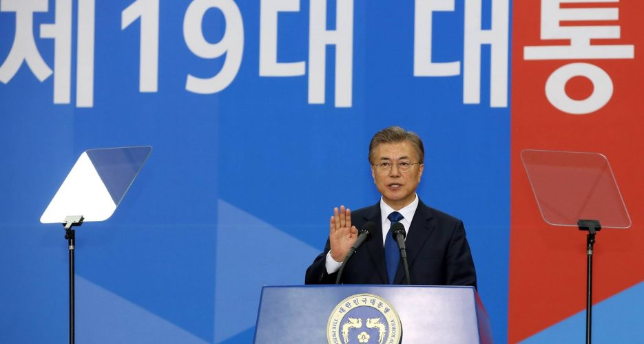 """Moon Jae-in, Xi Jinping agree to use """"pressure and sanctions"""" against N. Korea"""