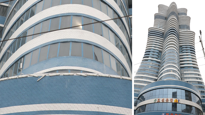 Largest skyscraper on prestige Pyongyang street remains uninhabited: sources