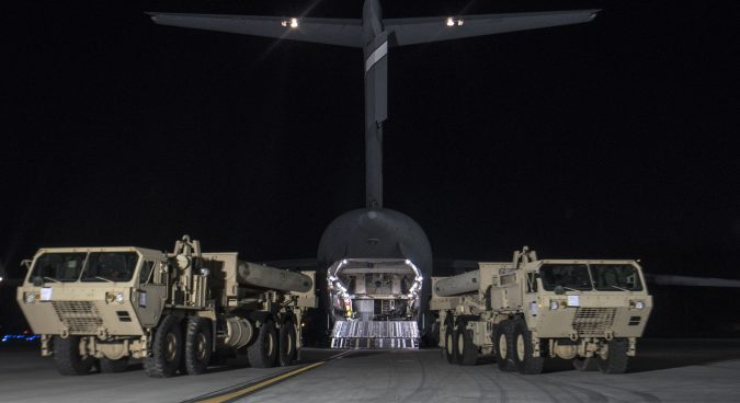 President Moon orders probe into undisclosed entry of THAAD launchers into ROK