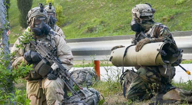 U.S., South Korean troops simulate raid on North Korean WMD sites
