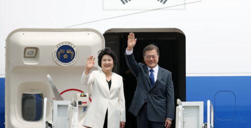 Seoul will continue to pursue dialogue despite N. Korean ICBM launch: Moon