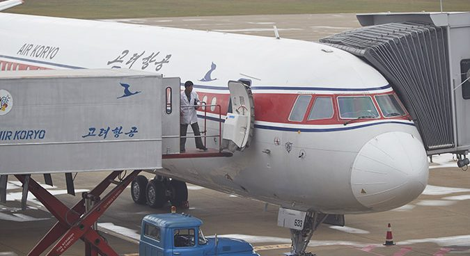 Air Koryo flight forced to land after technical mishap: sources