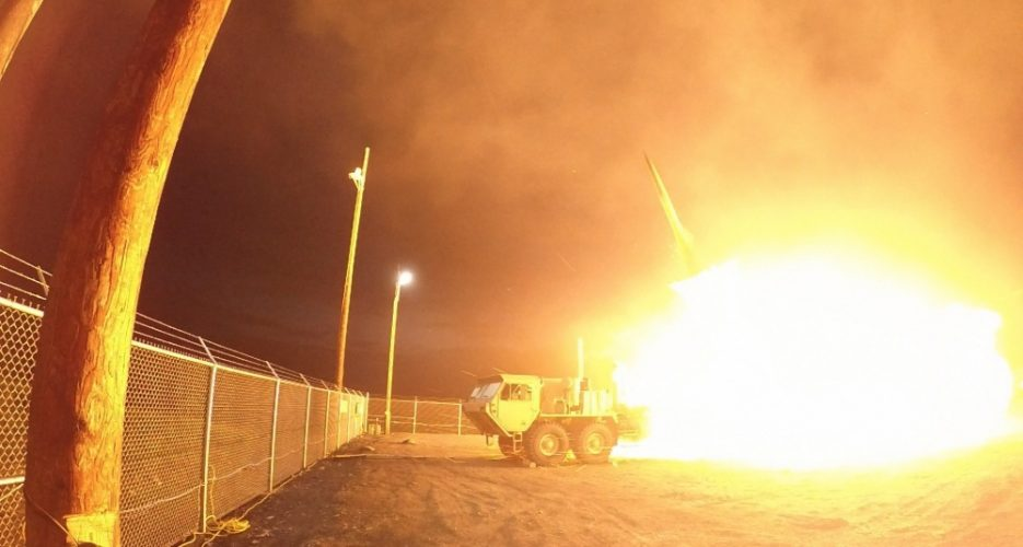 U.S. conducts second successful THAAD test in three weeks