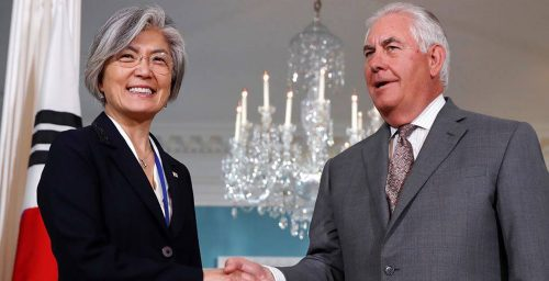Seoul in discussions with Washington over secondary sanctions: foreign minister
