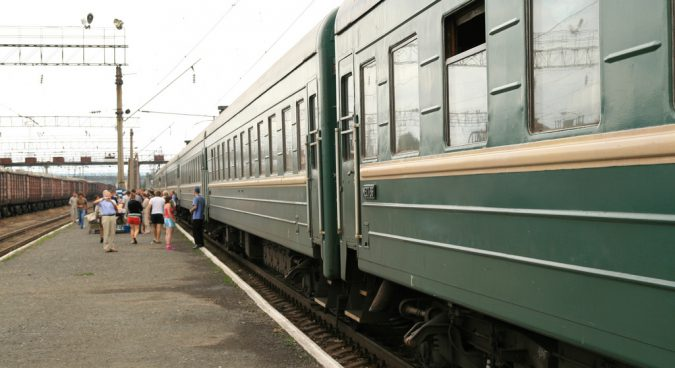 SIBERIA train photo
