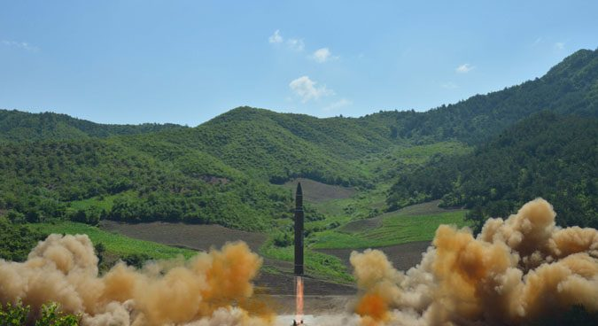 "North Korea says ICBM can carry ""large-size heavy"" nuclear warhead"